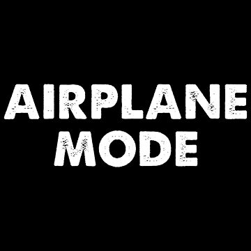 Airplane Mode On Funny Traveling Apparel by CustUmmMerch