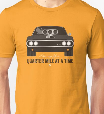 Cinema Obscura Series - The Fast & the Furious - Quarter Mile Unisex T-Shirt