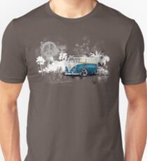 Splitty Grunge (W) Unisex T-Shirt