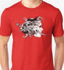 Toungue Twisted Android Girl T-Shirt