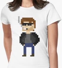 Pixel Hank Moody T-Shirt