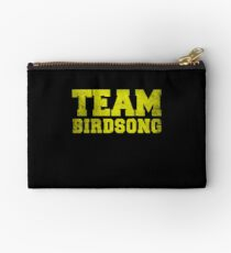 Team Birdsong, Yellow, Studio Pouch