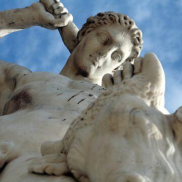 Theseus and the Minotaur (Paris) by tobiphoto