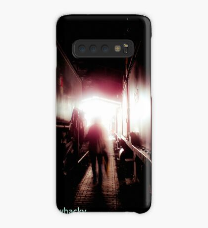 Train shed Ghost Case/Skin for Samsung Galaxy