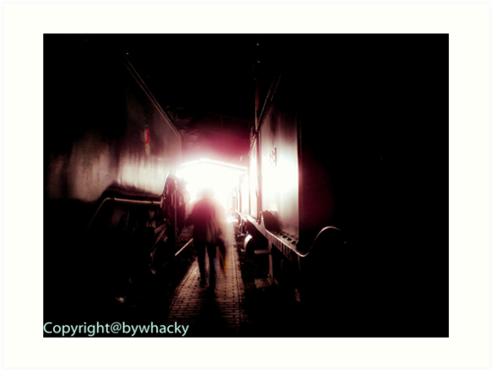 Train shed Ghost by bywhacky