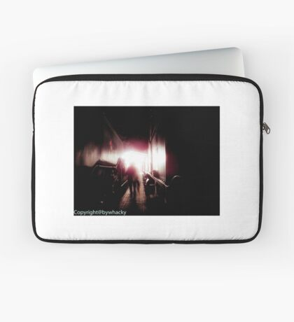 Train shed Ghost Laptop Sleeve