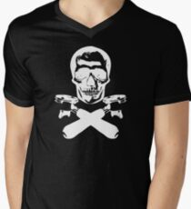 Skull & Portafilters Men's V-Neck T-Shirt