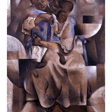 «Maternité de Vladimir Baranov-Rossine» par Chunga