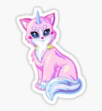 Lisa Frank Unikitty Sticker
