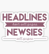 Schlagzeilen Sticker
