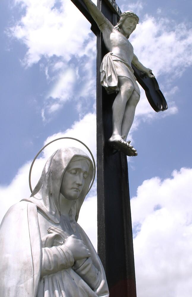 Jesus and Lady Guadalupe  by Rob & Jenni Erickson