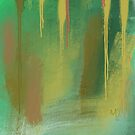 Deep in the Forest Abstract by ArtFactory5