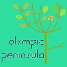 Olympic Peninsula Tree by EvePenman