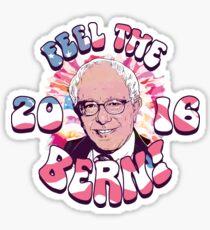 Bernie Sanders Feel The Bern Sticker