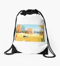 Daily Desert Doodle - The Blog and the Podcast Drawstring Bag