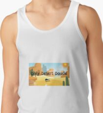 Daily Desert Doodle - The Blog and the Podcast Men's Tank Top