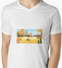 Daily Desert Doodle - The Blog and the Podcast Men's V-Neck T-Shirt