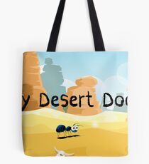 Daily Desert Doodle - The Blog (large) Tote Bag