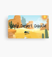 Daily Desert Doodle - The Blog (large) Metal Print