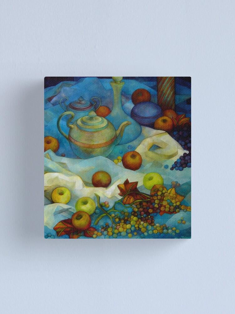 Alternate view of  blu still life Canvas Print