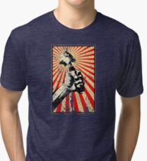 Coffee Revolution! Distressed Tri-blend T-Shirt