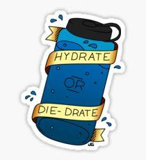 Pegatina Hidratar o Die-Drate
