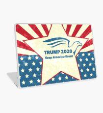 Trump 2020 Keep America Great - Star Spangled Banner Laptop Skin