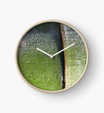 Aurora bamboo Clock
