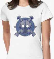 Art Deco Midnight Gasmask T-Shirt