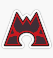 Team Magma Logo Sticker