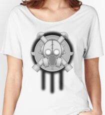 Art Deco Gasmask Trinity Women's Relaxed Fit T-Shirt
