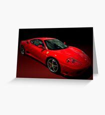 2004 Ferrari 360 Modena  Greeting Card