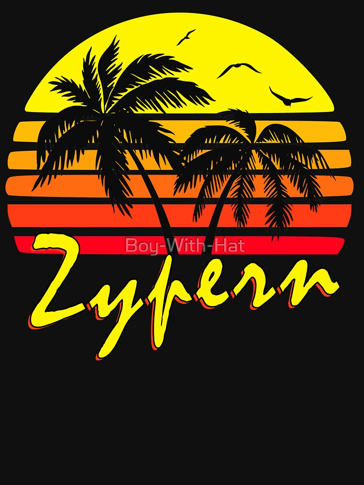 Zypern Vintage Sunset von Boy-With-Hat