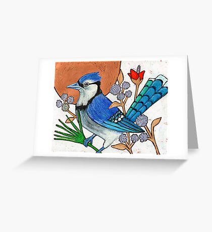 Blue Note (The Blue Jay) Greeting Card