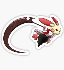 Plusle Pandora Hearts Cosplayer Sticker