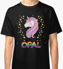 Opal - spezielles personalisiertes Geschenk für Opal Classic T-Shirt
