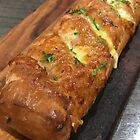 Cheesy garlic bread roll by TeAnne