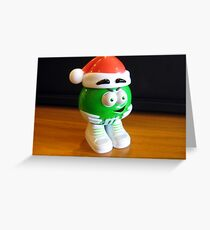 Mr M&M    (Before going into hiding). Greeting Card