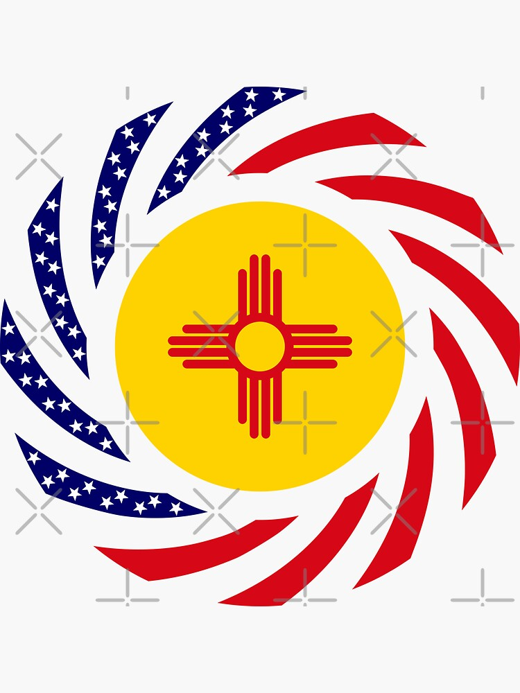 New Mexican Murican Patriot Flag Series by carbonfibreme