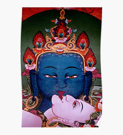 union of now. tibetan painting, northern india Poster