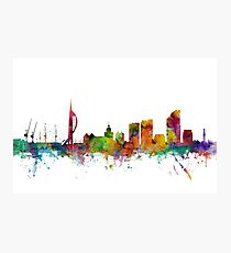 Portsmouth England Skyline Photographic Print