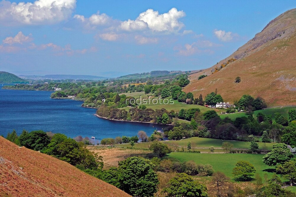 Ullswater, viewed from Martindale by rodsfotos