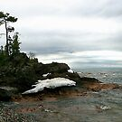 Last snow Lake Superior, Ontario by Eros Fiacconi (Sooboy)