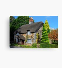 Ashwell Lodge, Devon Canvas Print