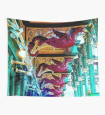Dragons of Leeds Market bywhacky Wall Tapestry