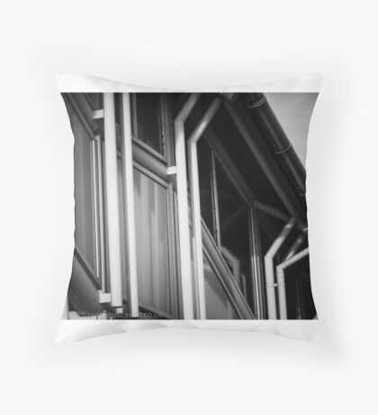 Kettering Station over pass from Kettrin'Kollection  Throw Pillow