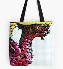 Leeds Market Dragon bywhacky Tote Bag