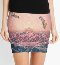 Find the Strength To Rise Up Mini Skirt