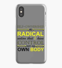 Self-Ownership Quip iPhone Case/Skin