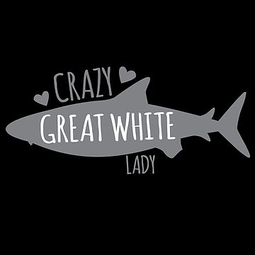 CRAZY GREAT WHITE LADY (Shark!) by jazzydevil